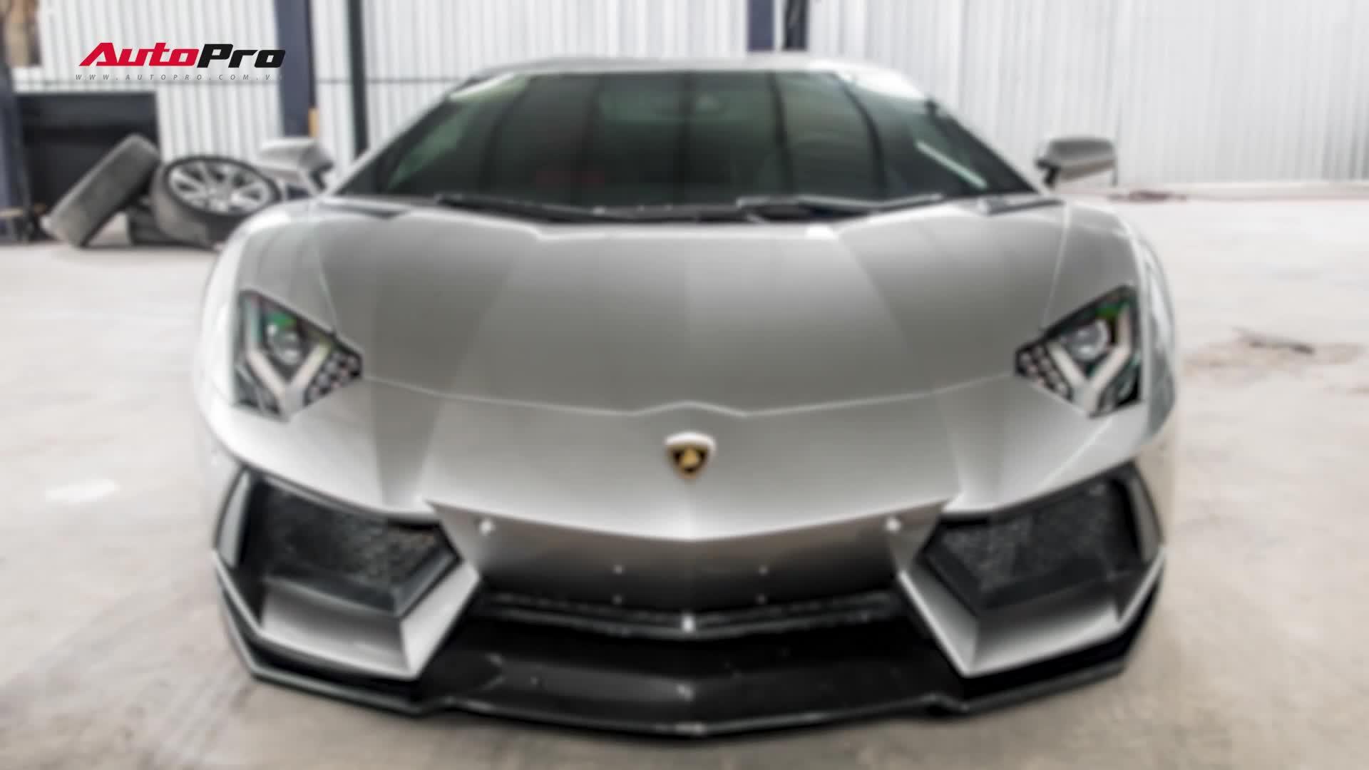 Đánh giá nhanh Lamborghini Avenrtador DMC độc nhất Việt Nam