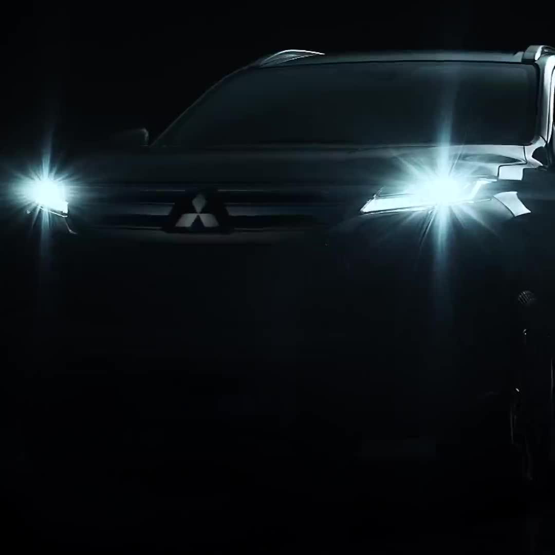 Mitsubishi nhá hàng Pajero Sport 2019 trước ngày ra mắt đúng 2 tuần