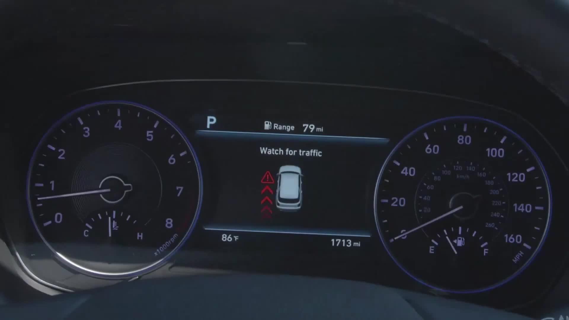 Hệ thống cảnh báo người dùng ra khỏi xe trên Hyundai Palisade