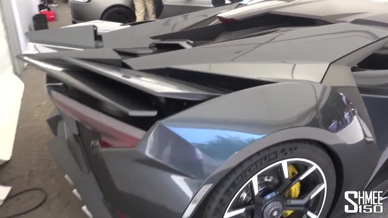 Tìm hiểu bên trong siêu xe Fenyr SuperSport