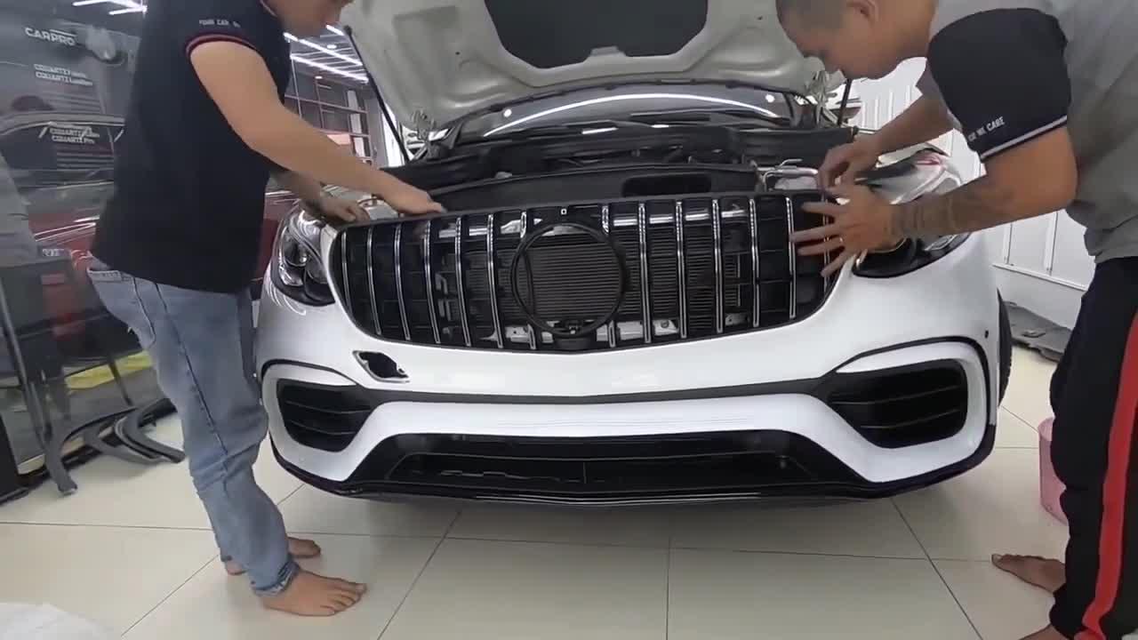 Quá trình nâng cấp Mercedes-Benz GLC 250 của Ưng Hoàng Phúc