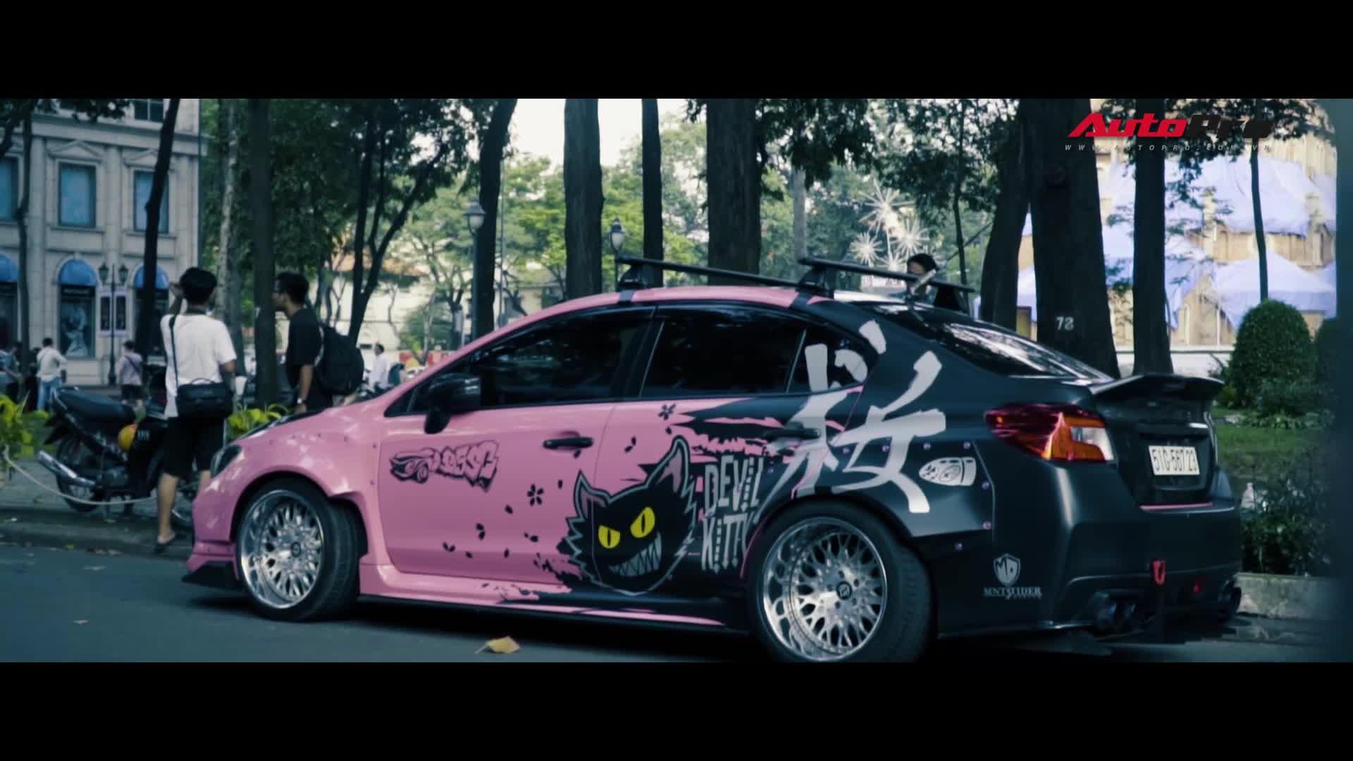 Khám phá Subaru WRX STi độ thân rộng với nhiều hàng độc của dân chơi Sài Gòn