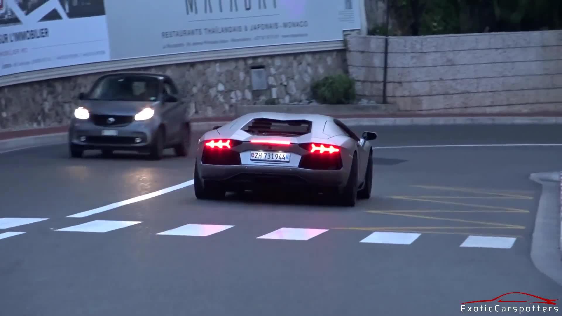 Lamborghini Aventador LP700-4 chính hãng nâng cấp hệ thống ống xả trị giá hàng trăm triệu đồng