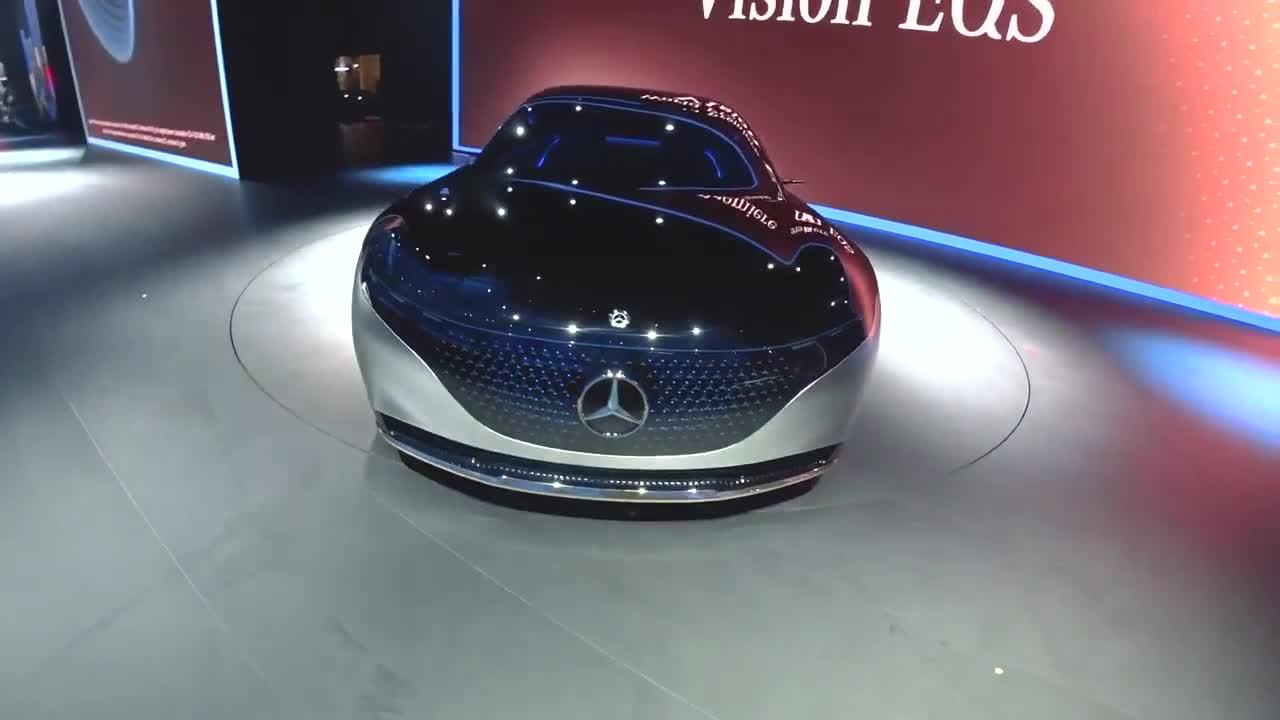 Chi tiết Mercedes-Benz Vision EQS
