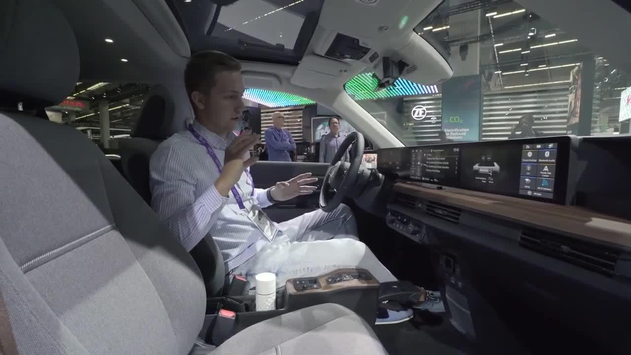 Honda e EV tại triển lãm Frankfurt 2019