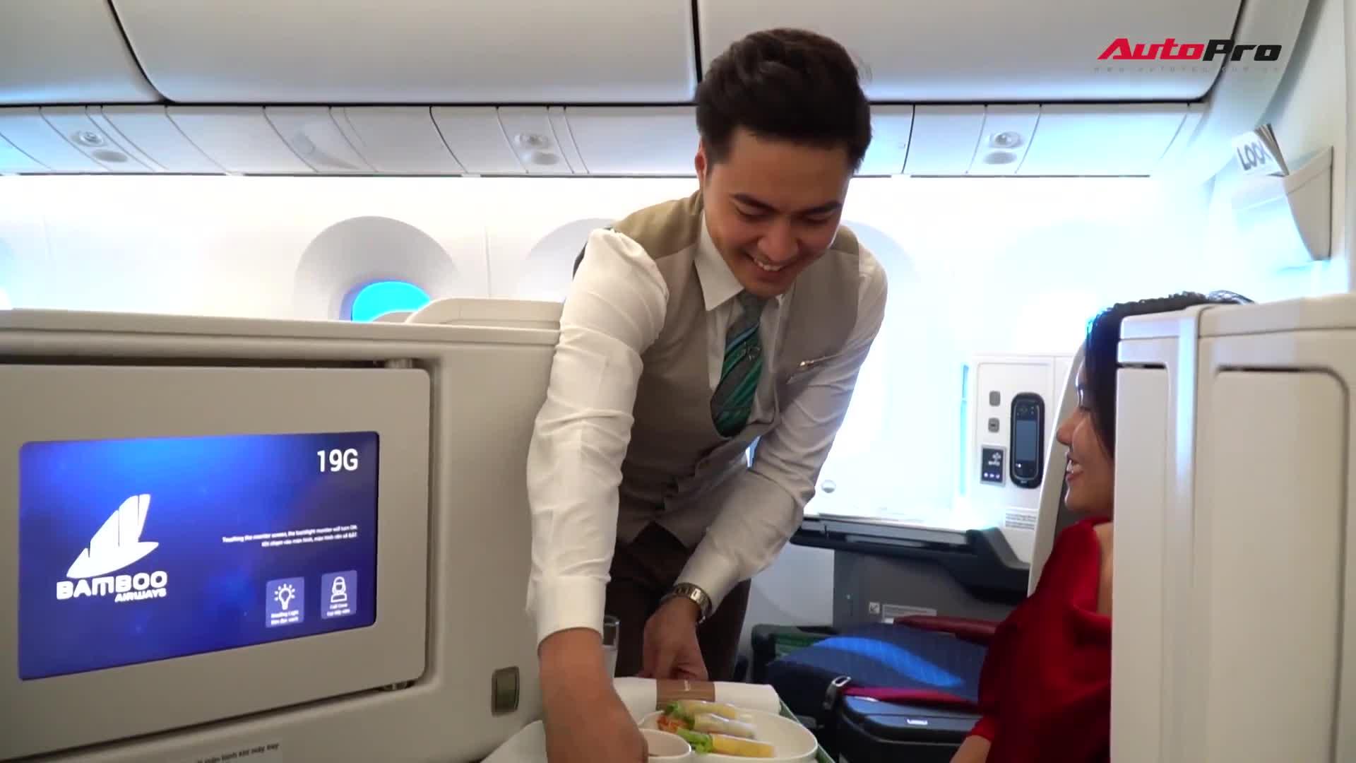 Trải nghiệm thương gia trên Boeing 787-9 Dreamliner của Bamboo Airways: 2 tiếng trở thành thượng đế từ Hà Nội tới Phú Quốc