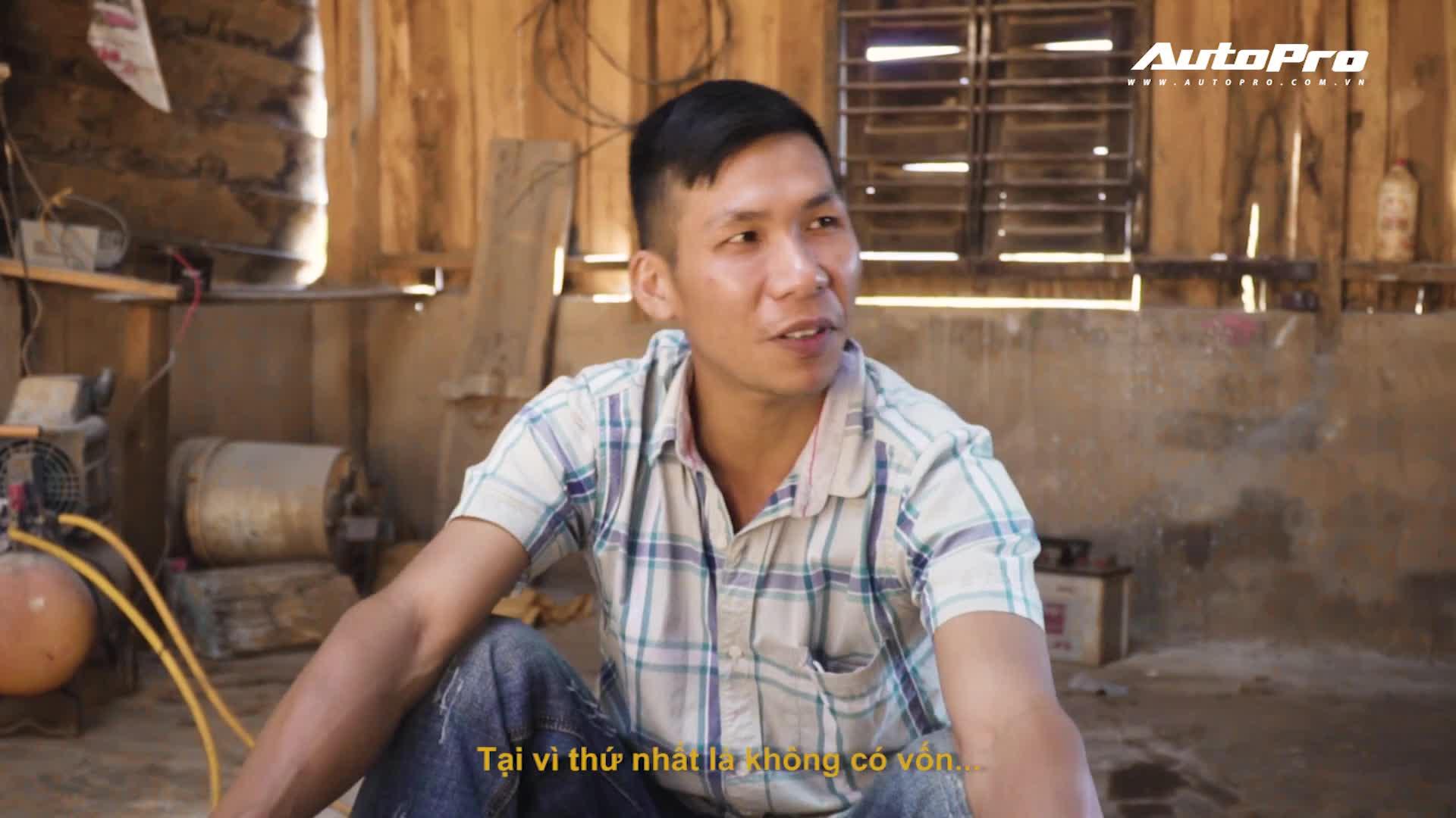 Gặp Trần Văn Kim - chàng trai Tây Nguyên muốn làm siêu xe Ferrari LaFerrari từ sắt vụn