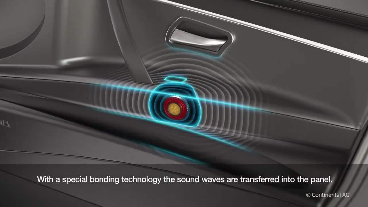 Sennheiser, Continental phát triển thành công hệ thống âm thanh ô tô không cần loa