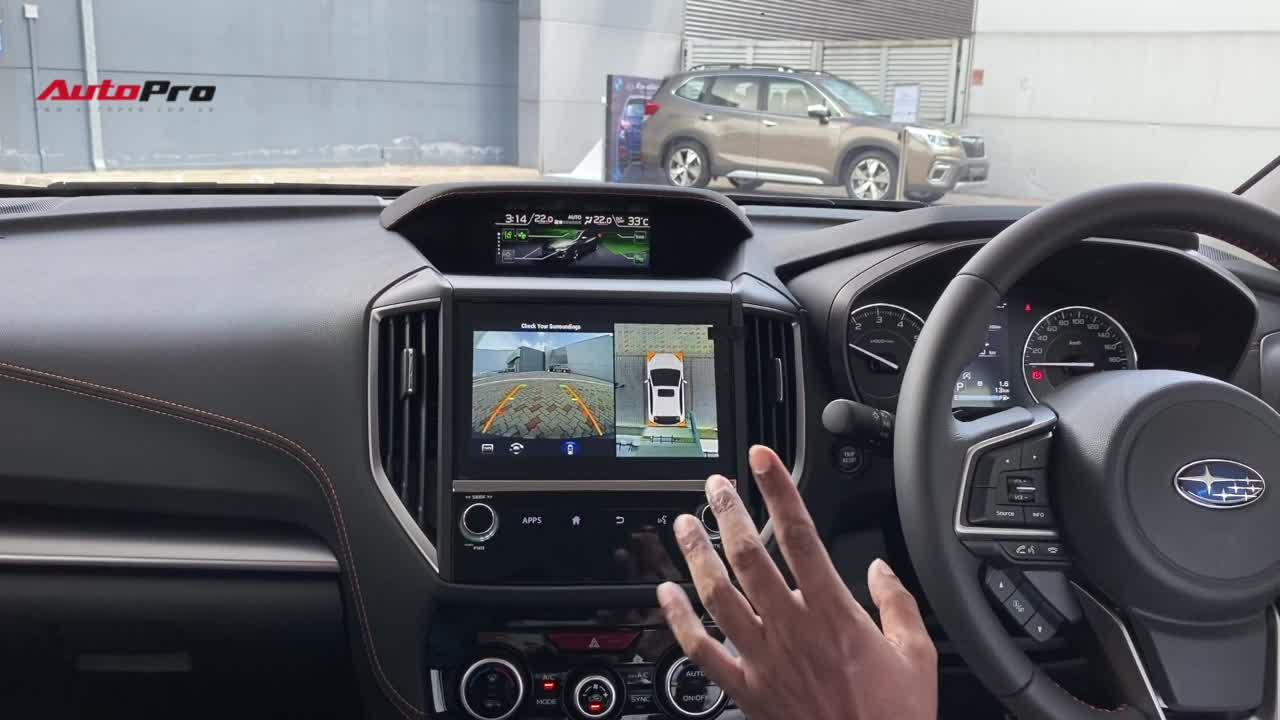 Thử nghiệm 2 trang bị an toàn mới trên Subaru Forester 2020