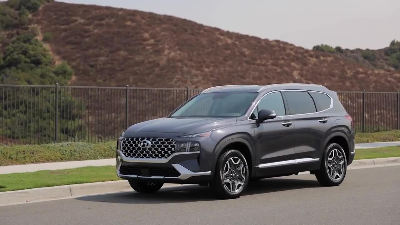 Chi tiết Hyundai Santa Fe 2021 phiên bản Bắc Mỹ