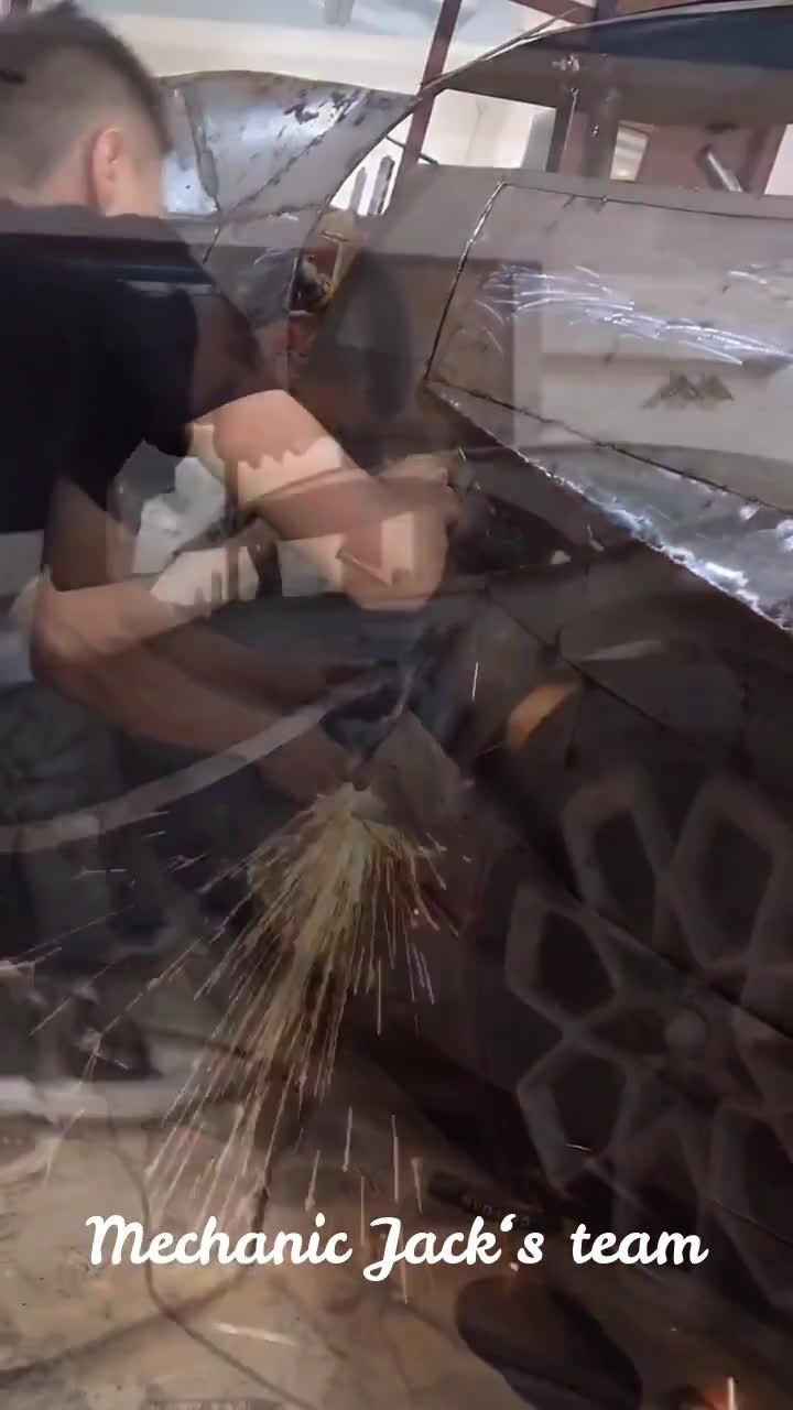 Thợ cơ khí làm Bugatti Vision Gran Turismo 'nhái' vô cùng thuyết phục (1)