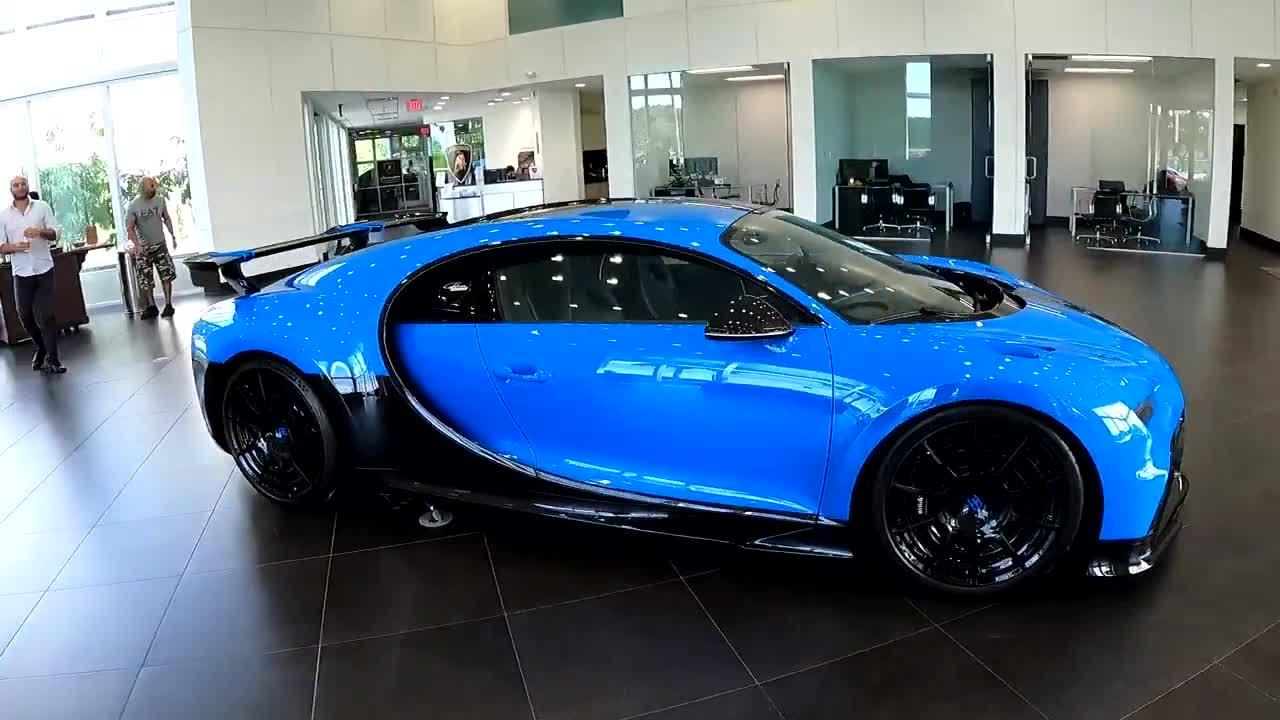 Bạn có thể thuê Bugatti Chiron Sport nhưng số tiền bỏ ra thực sự quá kinh khủng