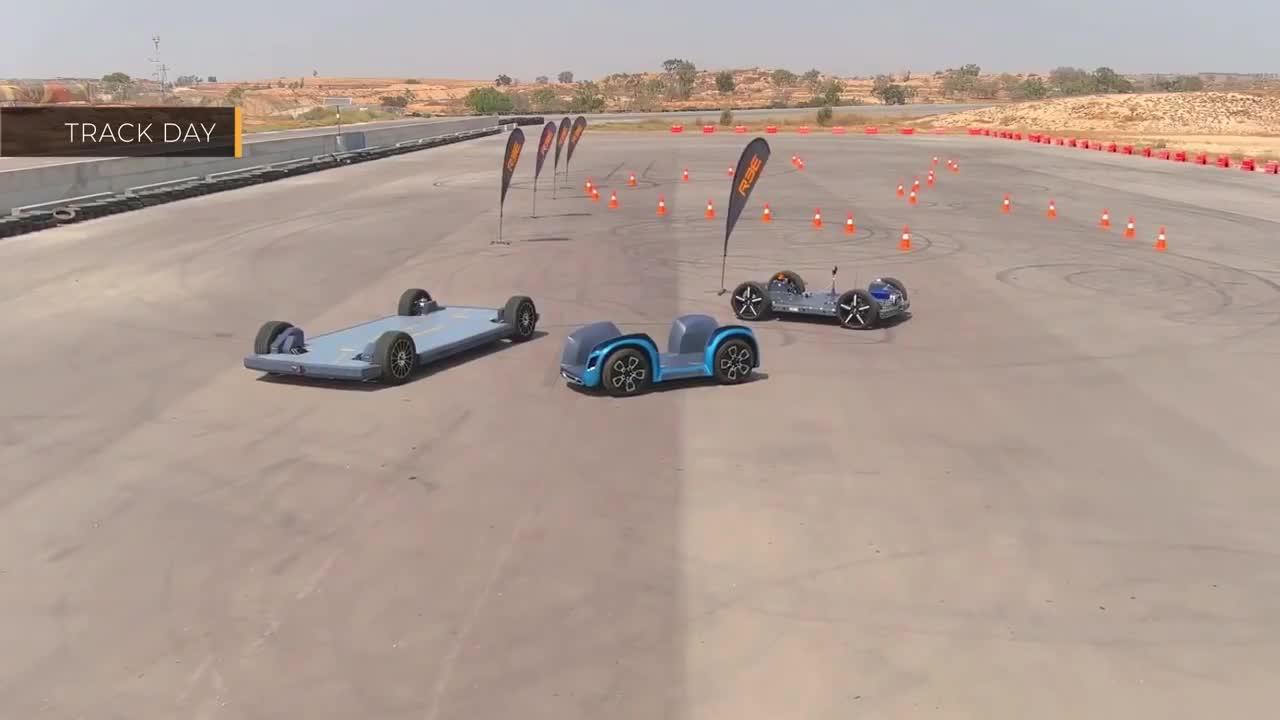 Concept xe điện của tương lai.