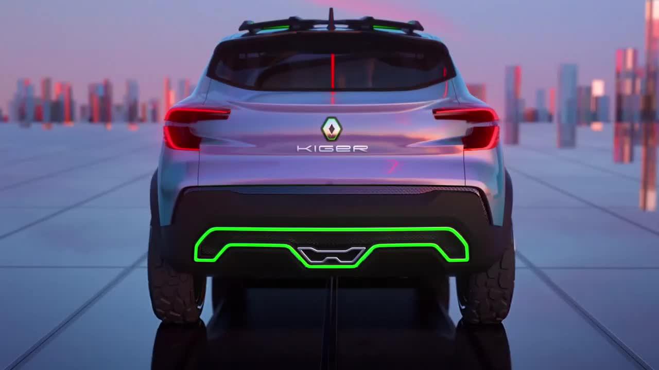 Renault hé lộ SUV cỡ nhỏ Kiger Concept