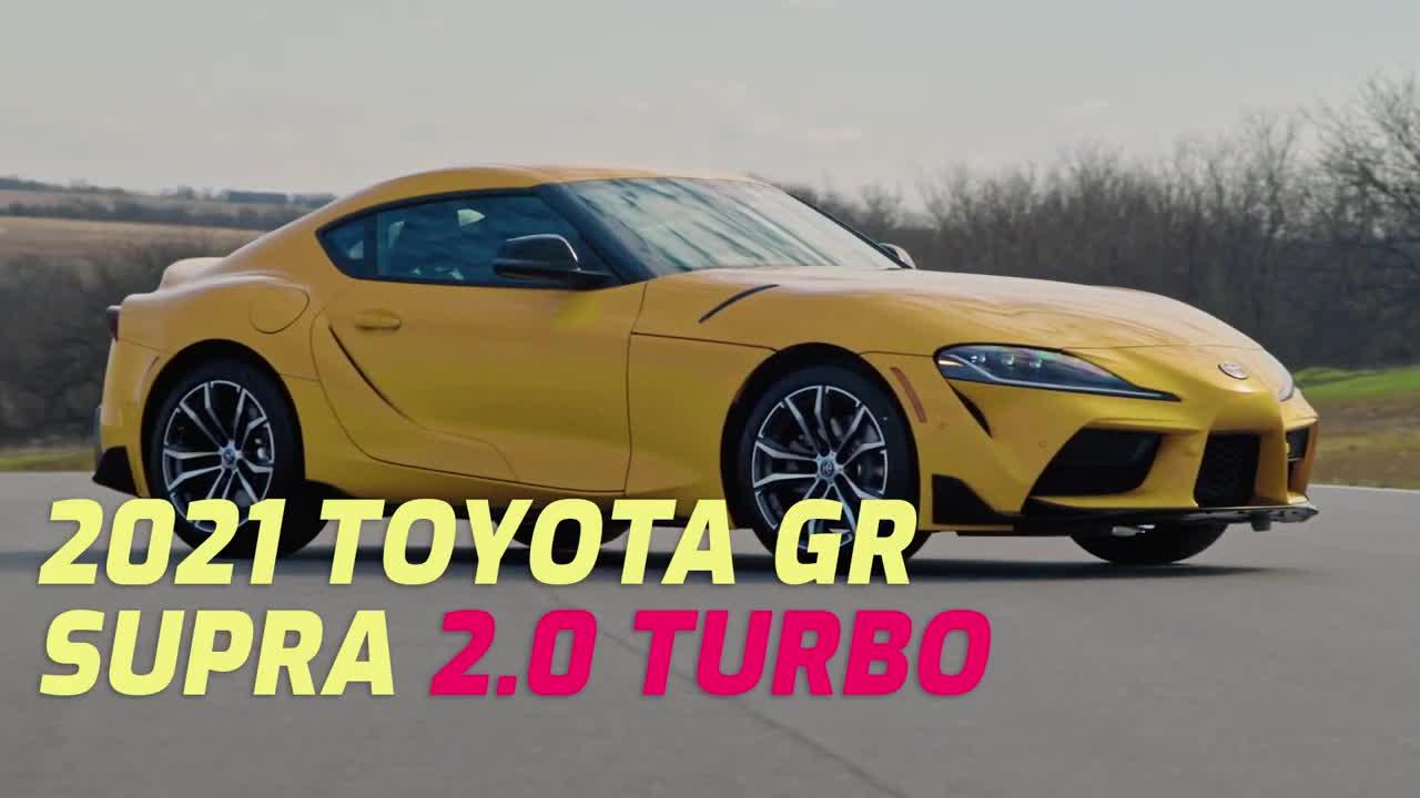 Tổng quan Toyota Supra 2.0L 2021