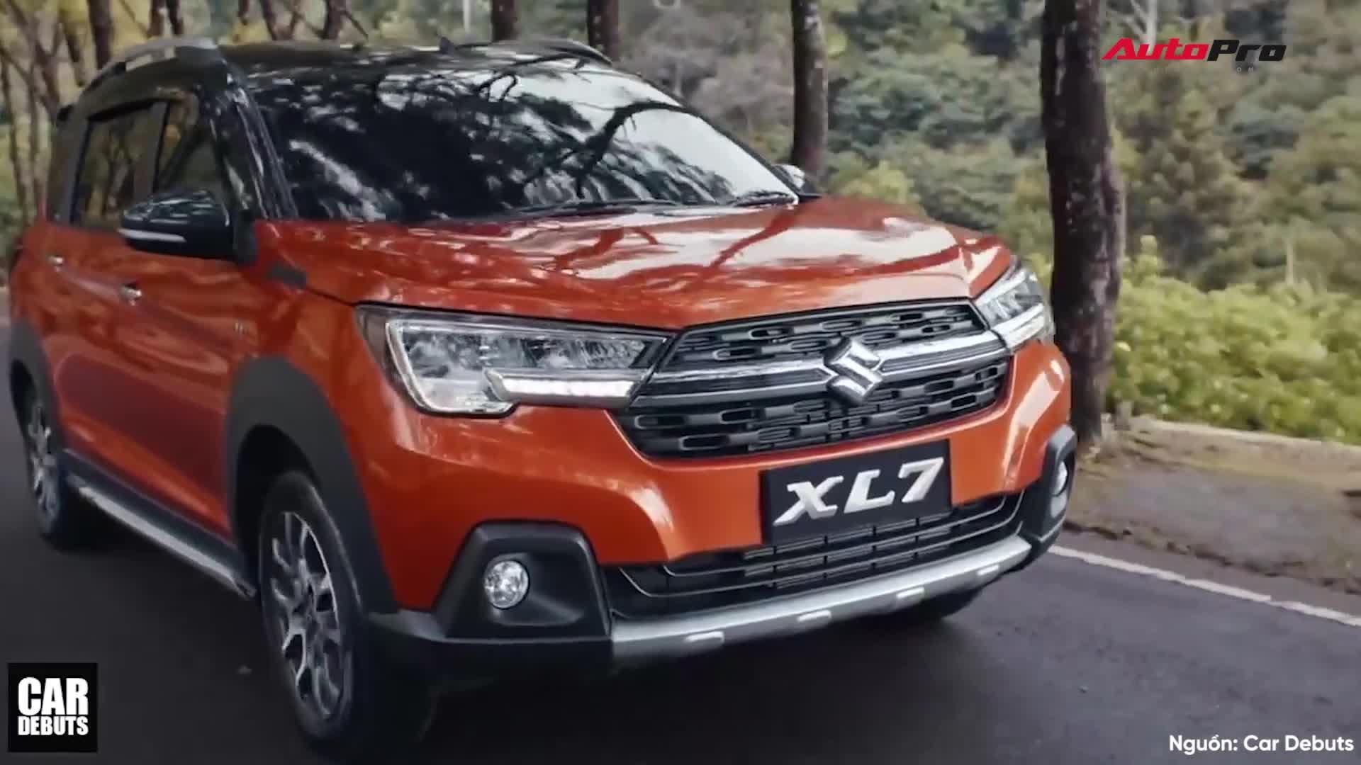 Khám phá chi tiết Suzuki XL7