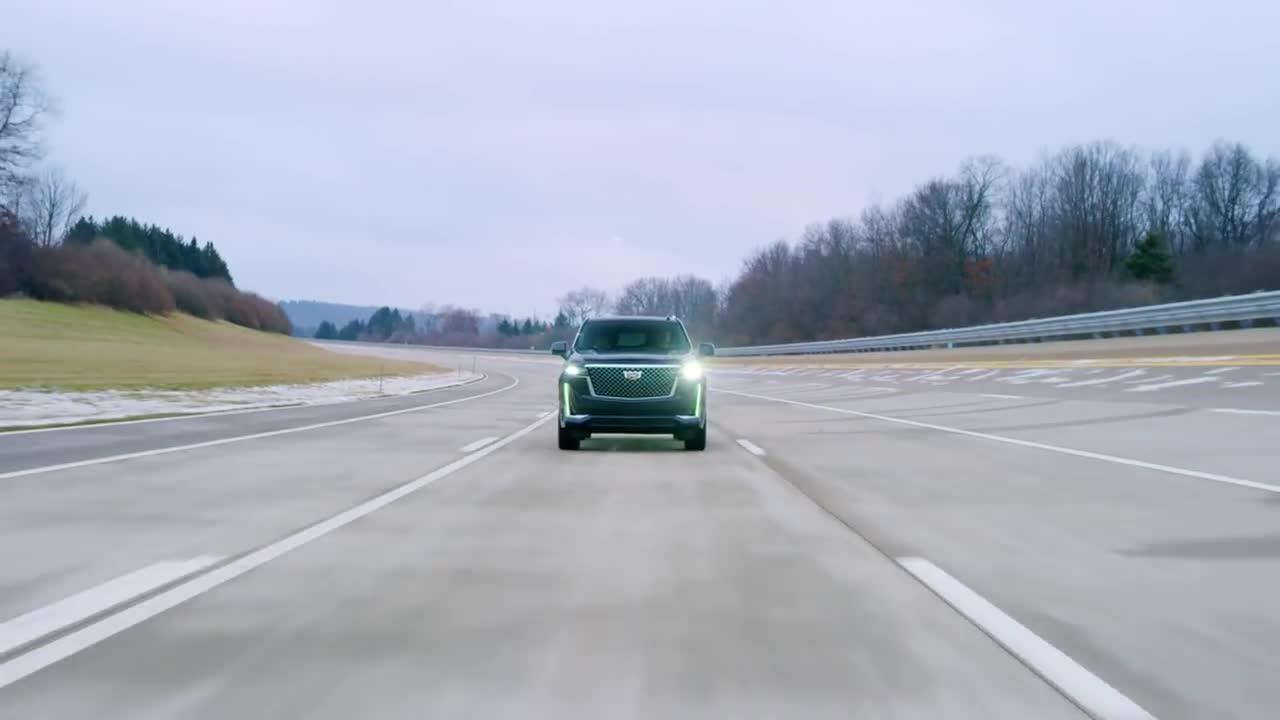 Cadillac Super Cruise trên Escalade 2020