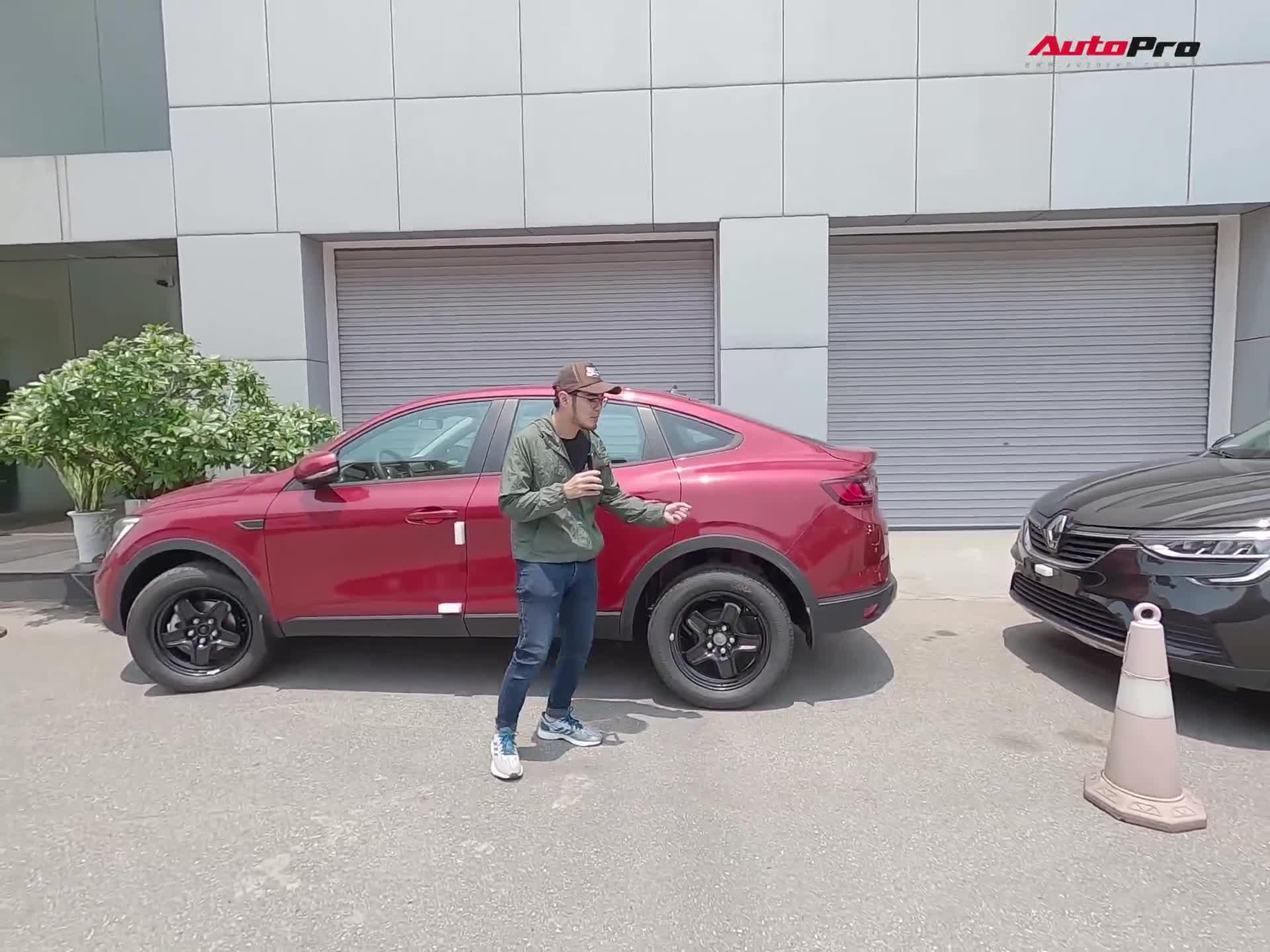 Đánh giá nhanh Renault Arkana 2020