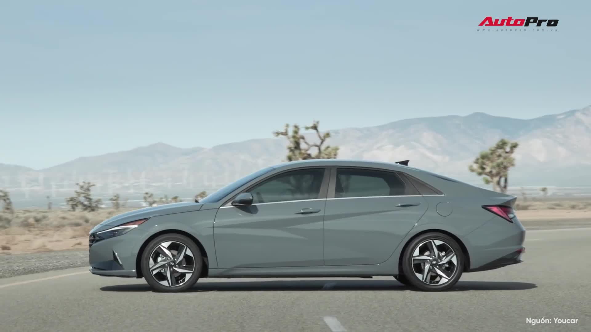 Đánh giá nhanh Hyundai Elantra 2021