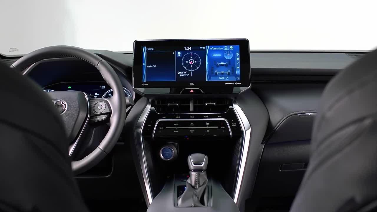 Nội thất Toyota Venza 2021