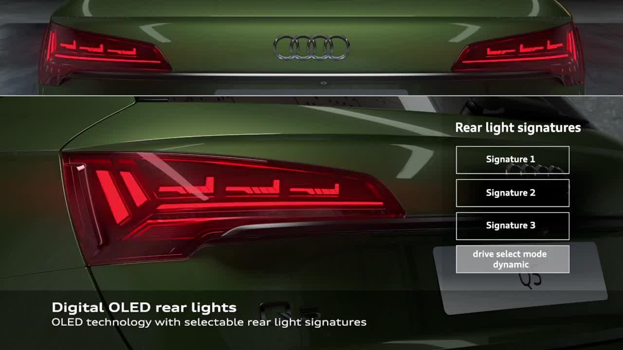 Công nghệ đèn OLED trên Audi Q5 2021
