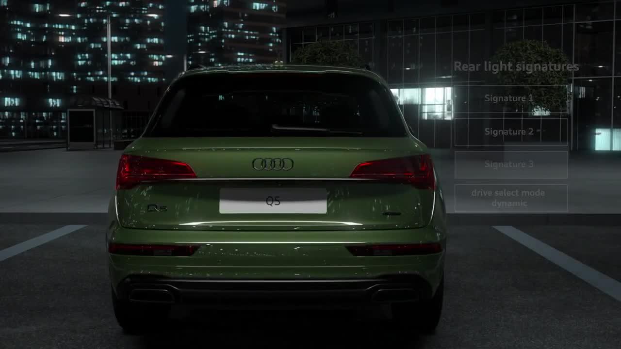 Đèn hậu OLED thông minh trên Audi Q5