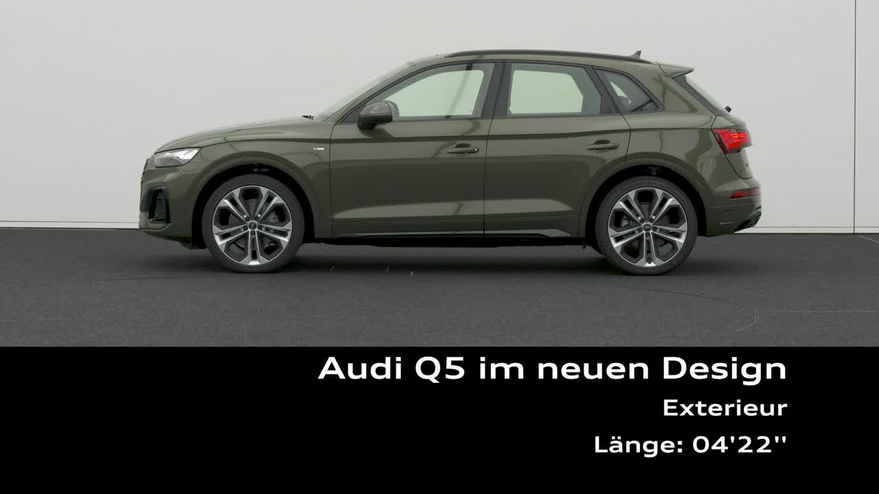 Nội, ngoại thất Audi Q5 2021