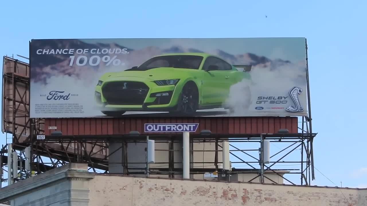 Woodward Dream Cruise 2019 GT500 Billboard