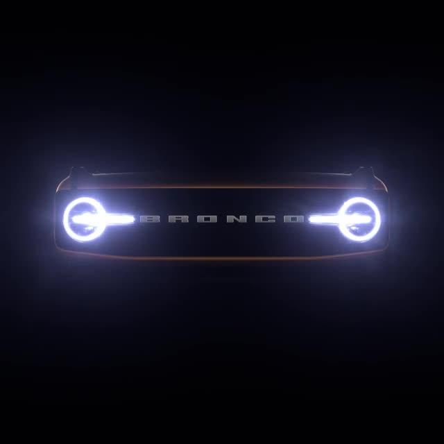 Ford Bronco 2021 teaser