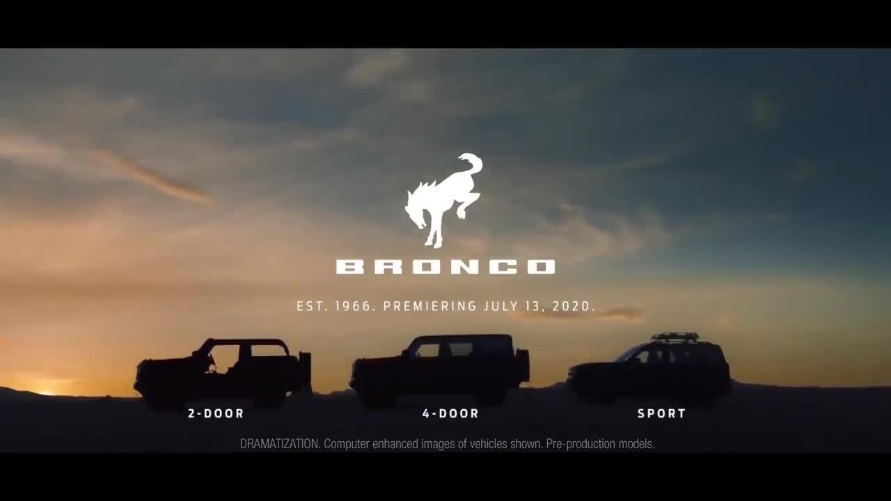 Teaser Ford Bronco 2021