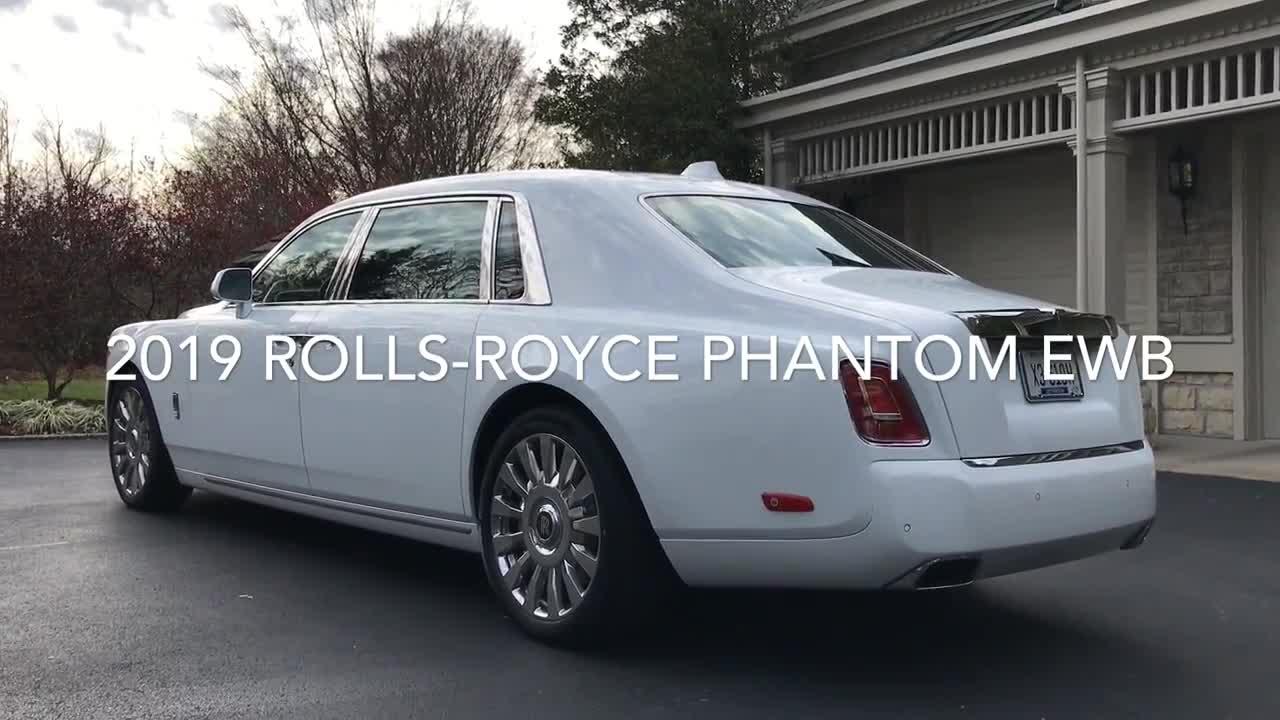 Khám phá chi tiết một chiếc Rolls-Royce Phantom EWB