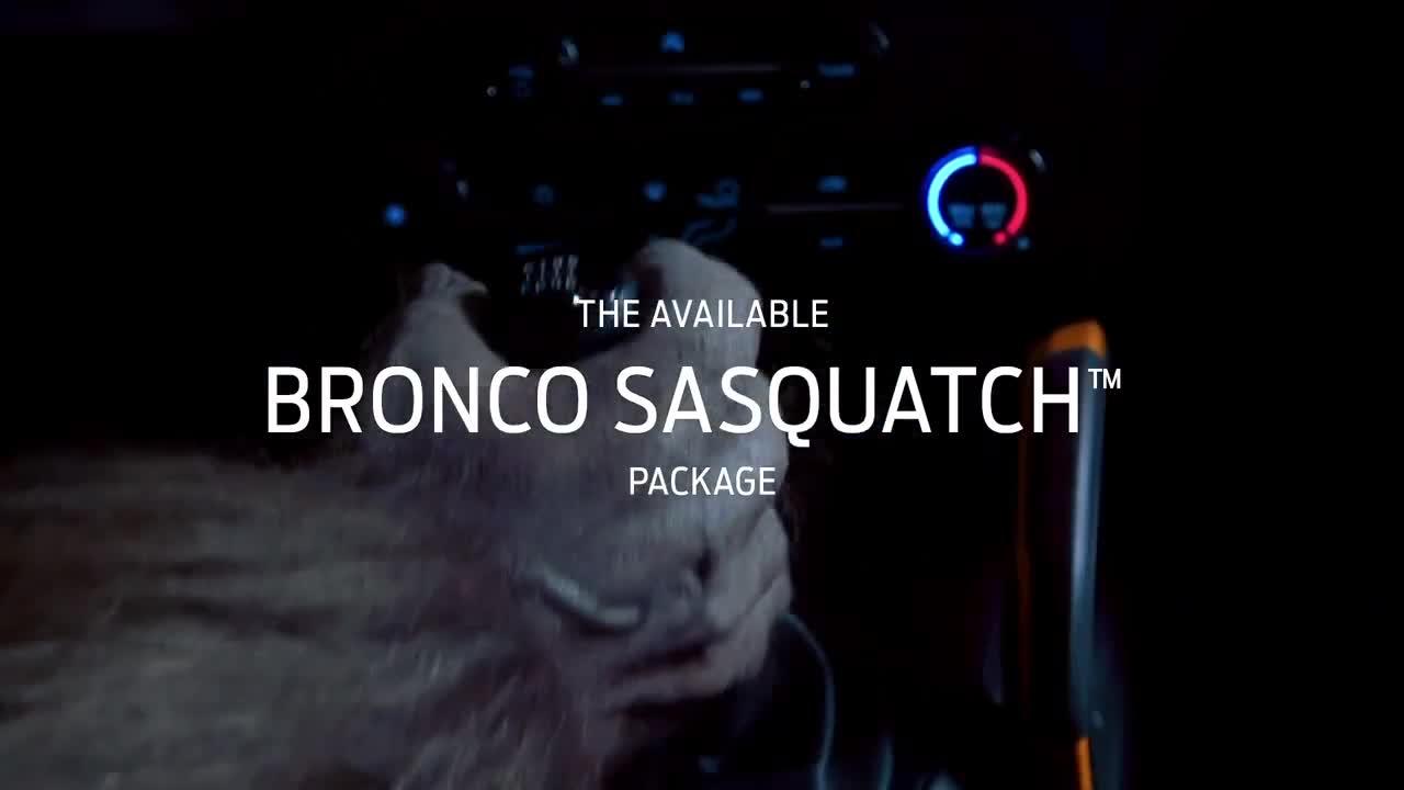 Ford kết hợp gói trang bị chất nhất đội hình Bronco với hộp số sàn