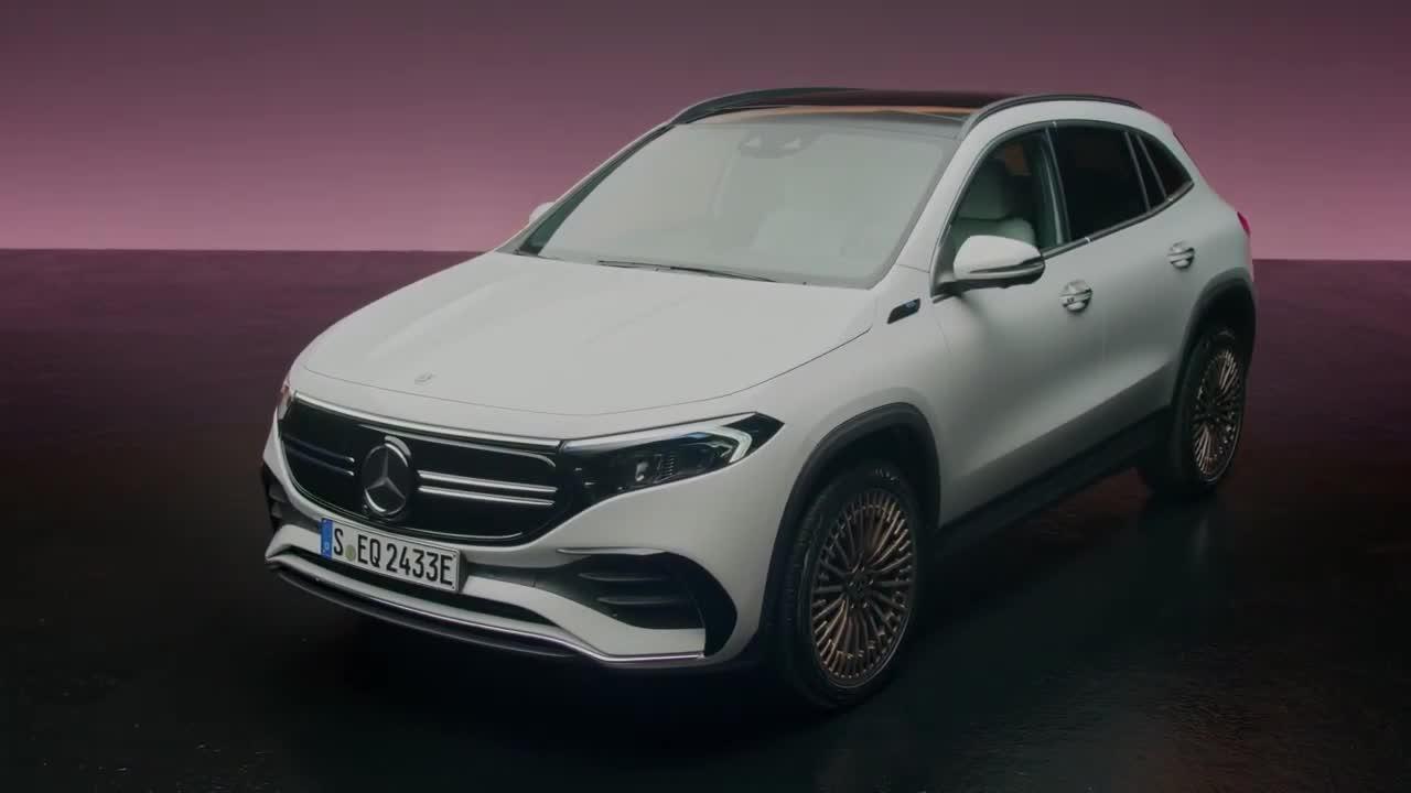 Chi tiết Mercedes-Benz EQA