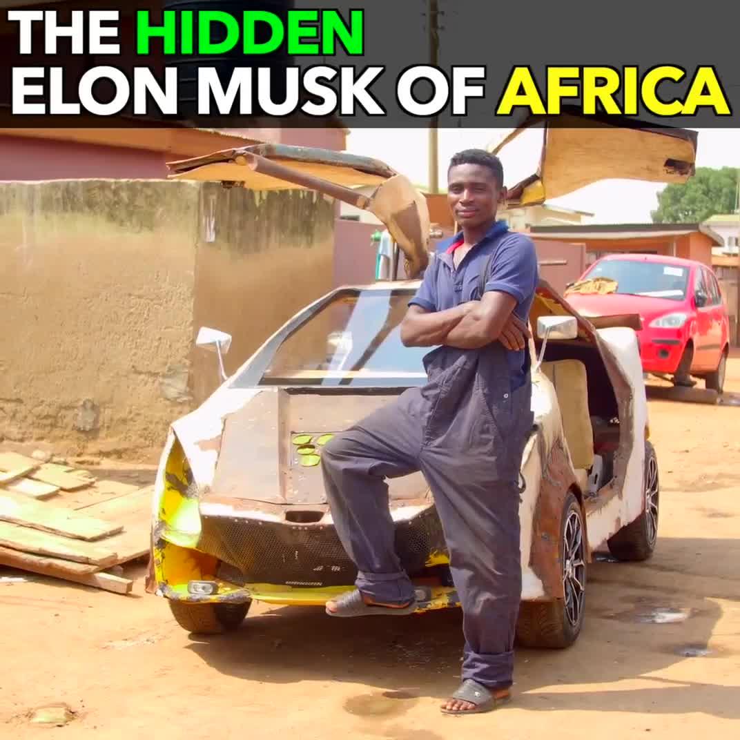 """Ở Ghana, có một """"Elon Musk"""" đang ở ẩn."""