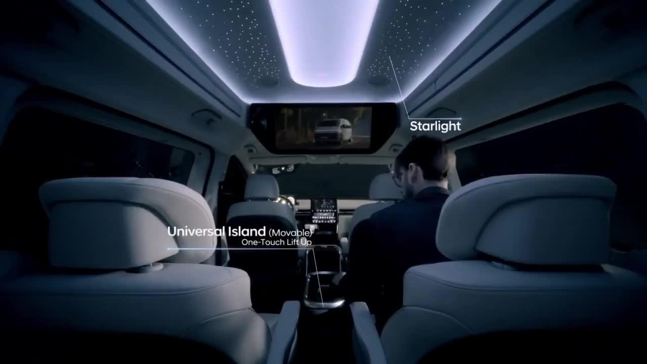 Toàn cảnh Hyundai Staria Minivan mới