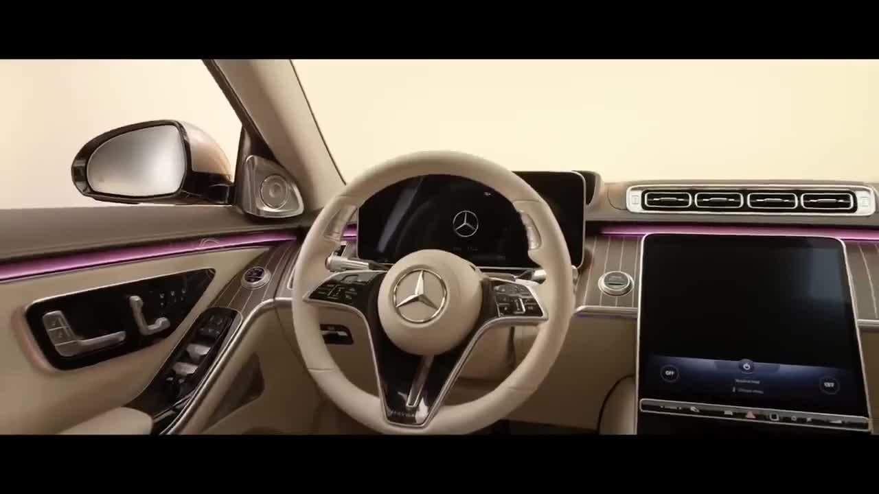 Khám phá nội thất Mercedes-Maybach S-Class 2021