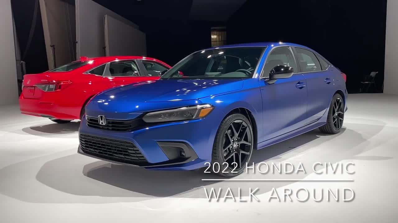 Clip khám phá Honda Civic 2020