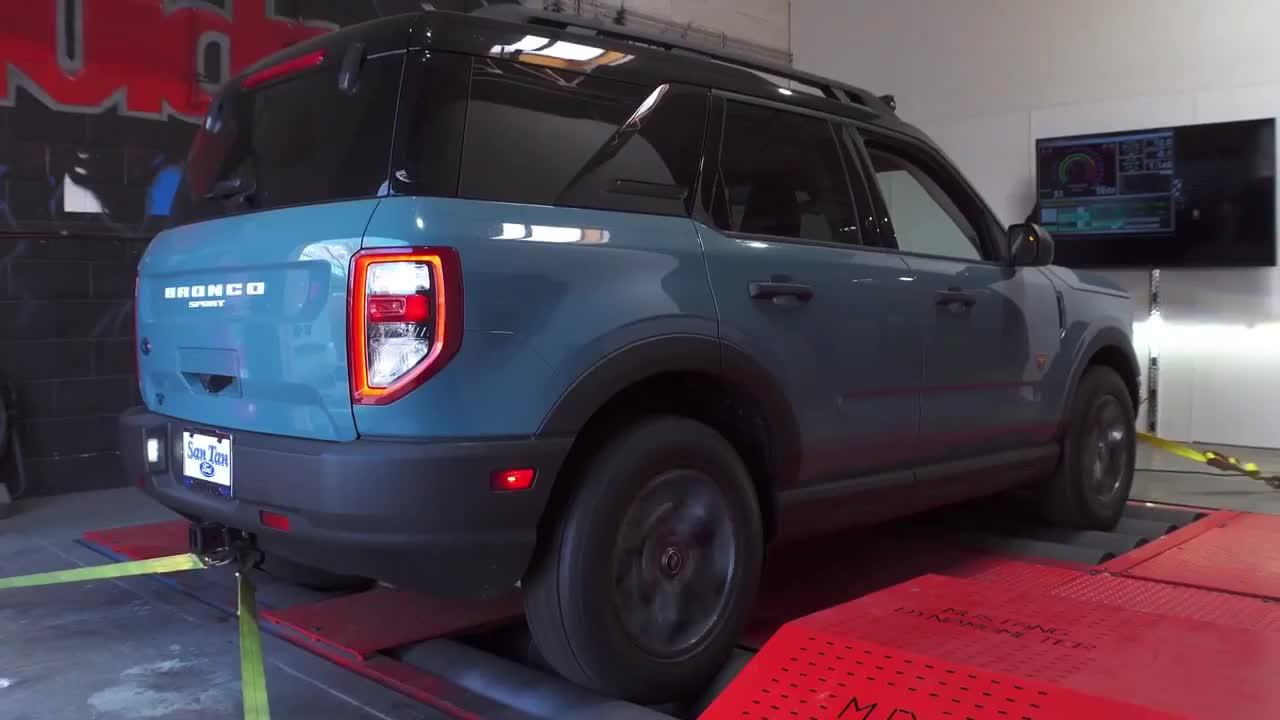 Vivid Racing chứng minh thông số bản độ Ford Bronco Sport
