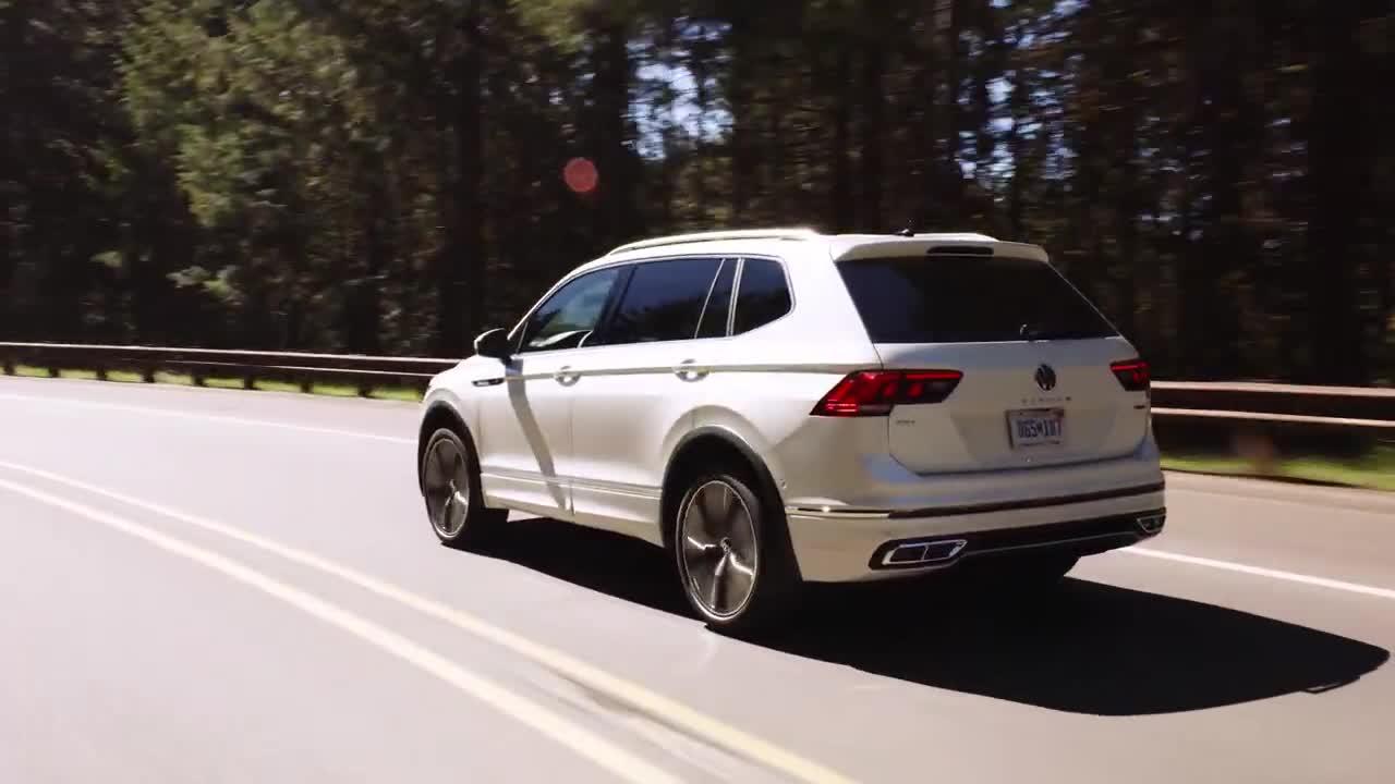 Chi tiết Volkswagen Tiguan Allspace facelift 2022