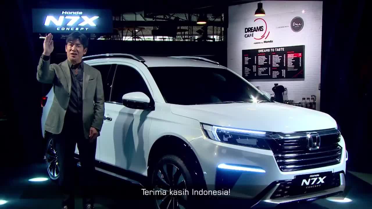 Honda N7X Concept chào sân