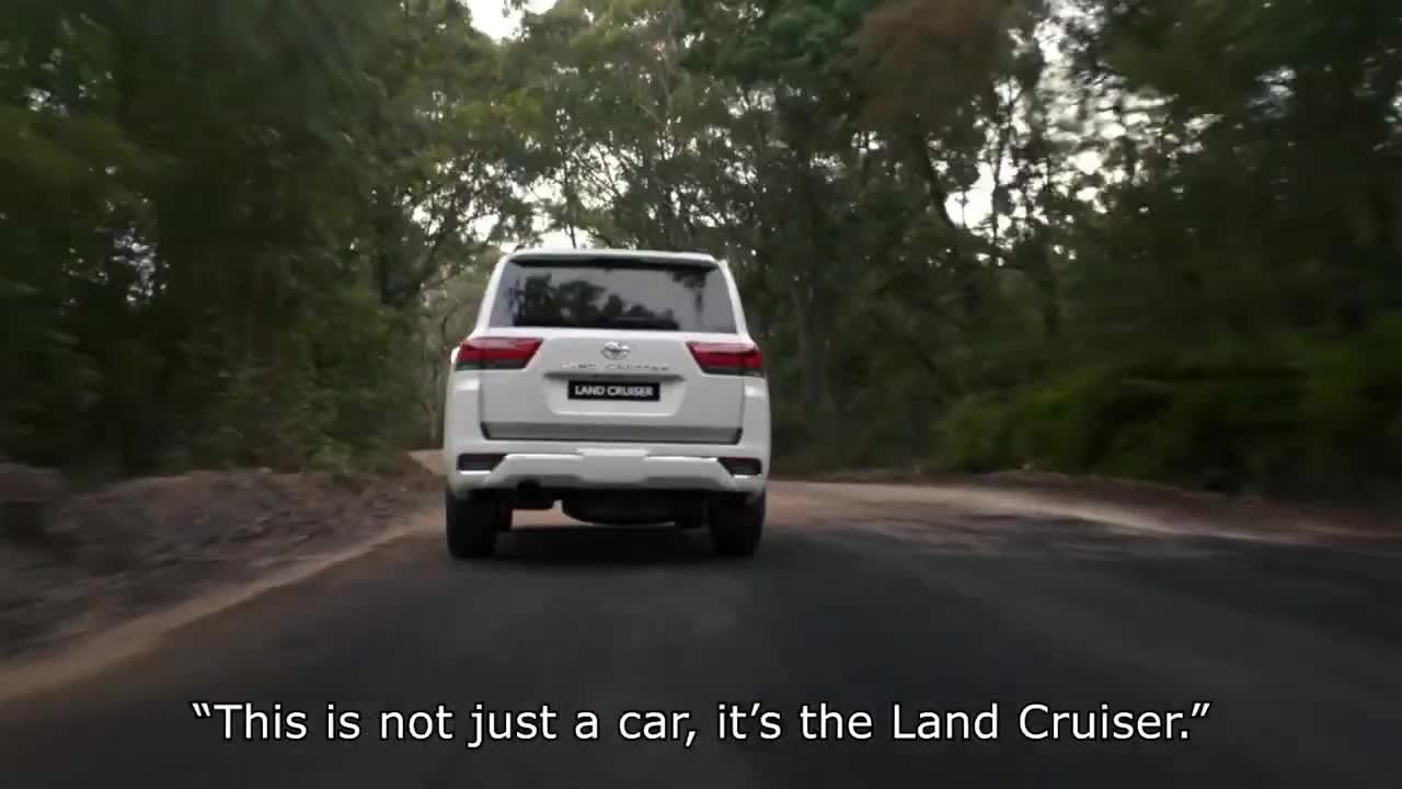 Chi tiết Toyota Land Cruiser LC300