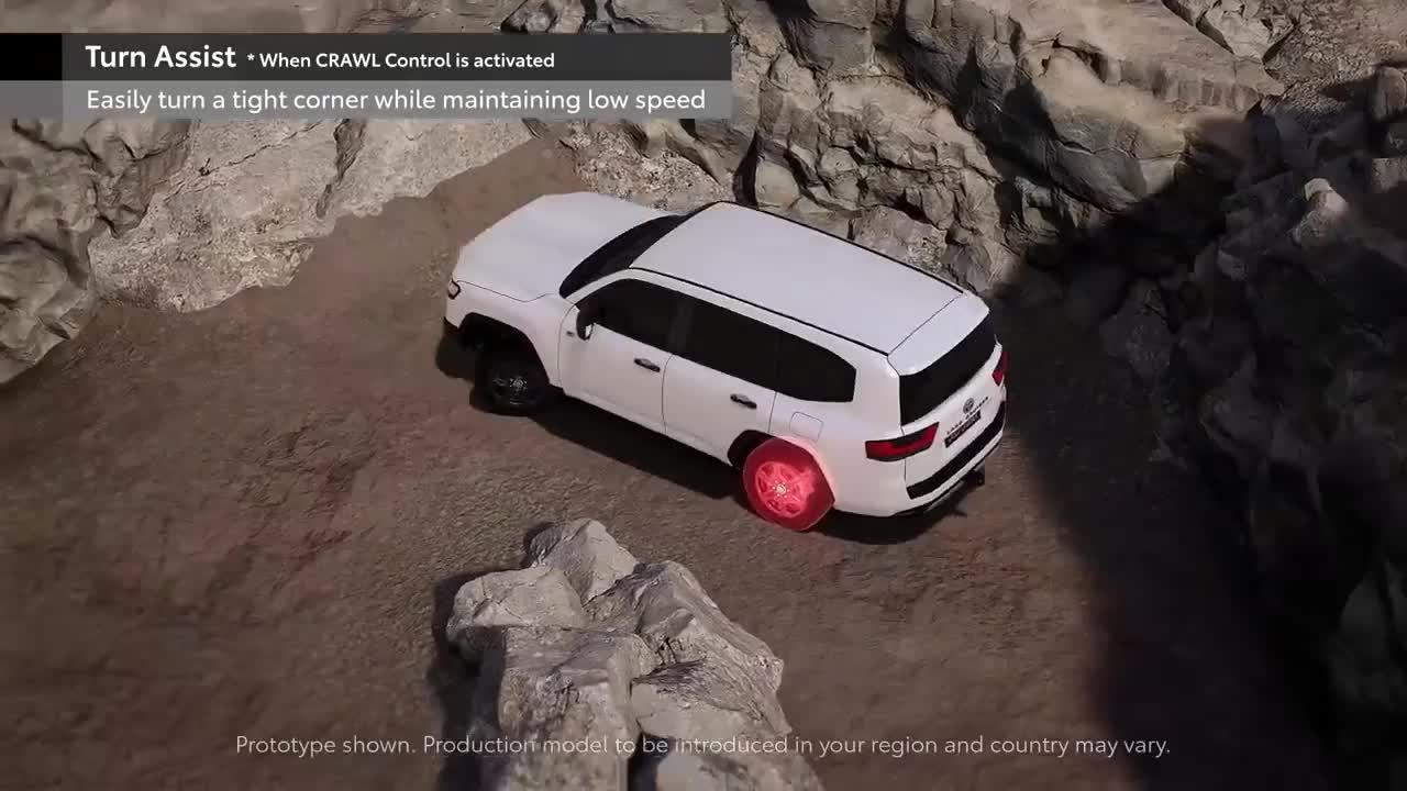 Khả năng vận hành off-road của Toyota Land Cruiser mới