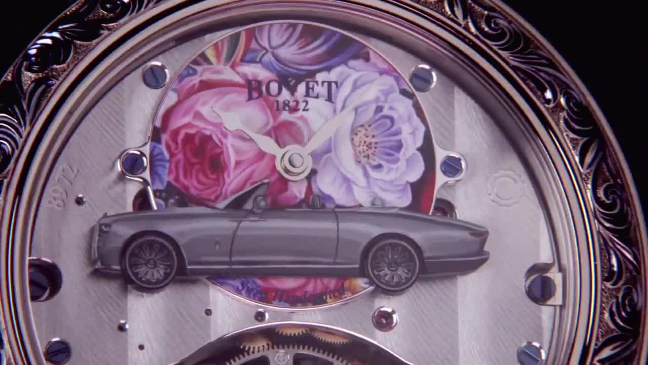 Đồng hồ khủng làm bạn đồng hành Rolls-Royce Boat Tail 28 triệu USD