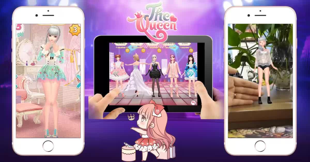 """The Queen: Game thời trang 3D """"tương tác ảo"""" đầu tiên sắp về Việt Nam!"""