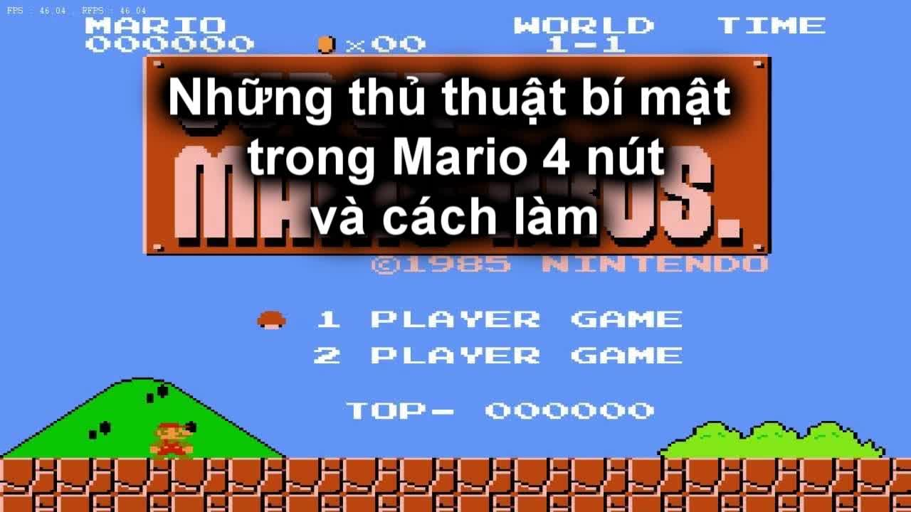 Phá đảo Mario 4 nút nhiều lần nhưng mấy ai biết được những bí mật này