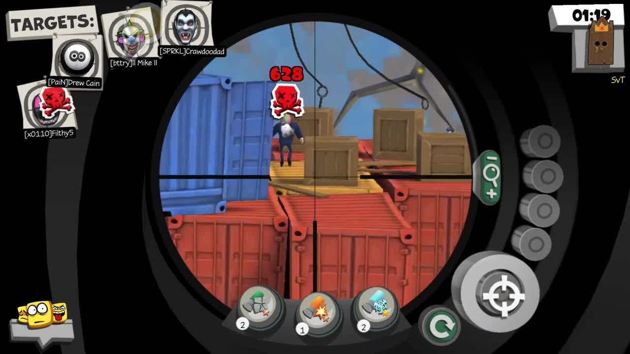 Snipers vs Thieves - Game phiêu lưu bắn súng mới lạ, cực vui nhộn cho Mobile