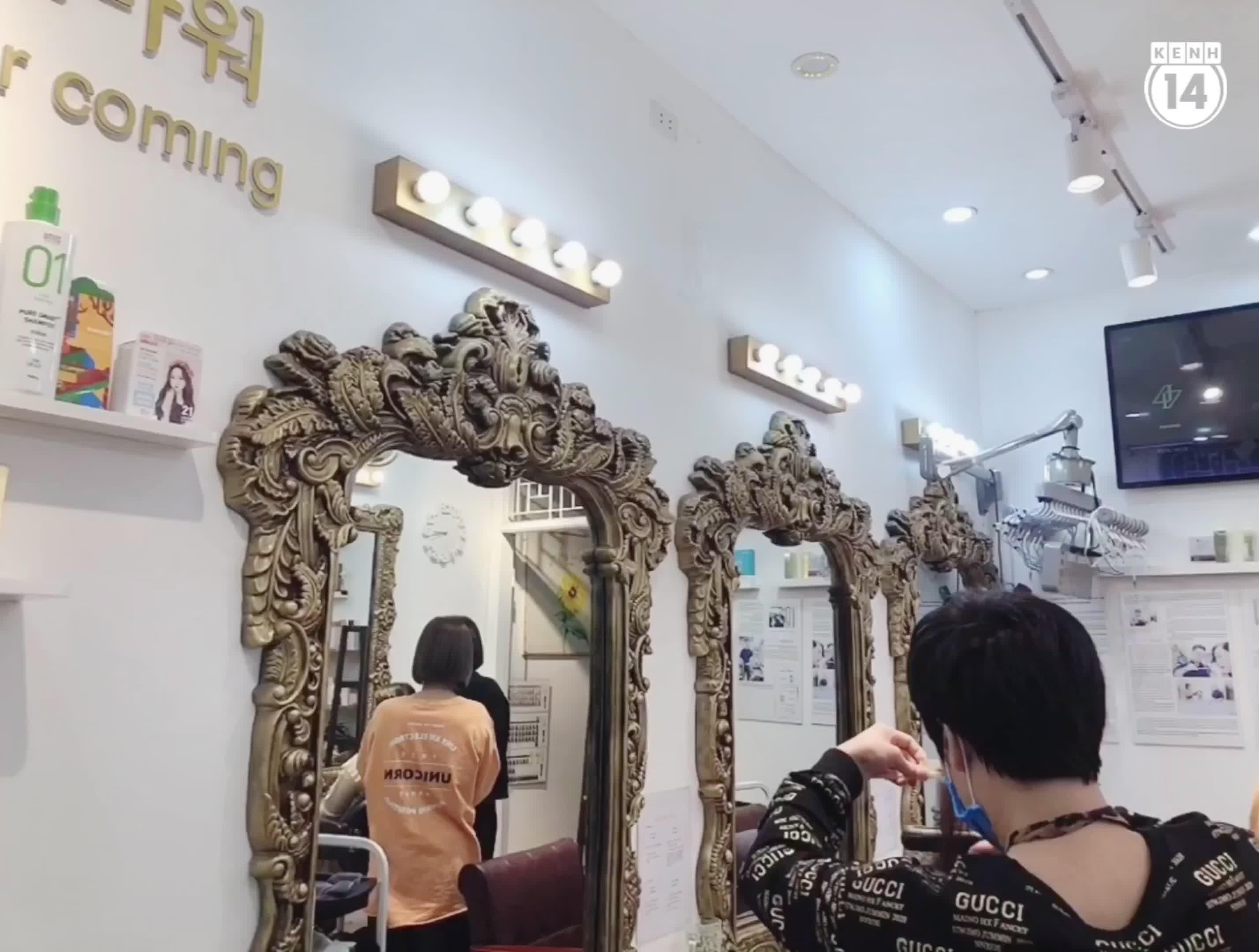Gội đầu ở salon Hàn: Tưởng không phê mà phê không tưởng