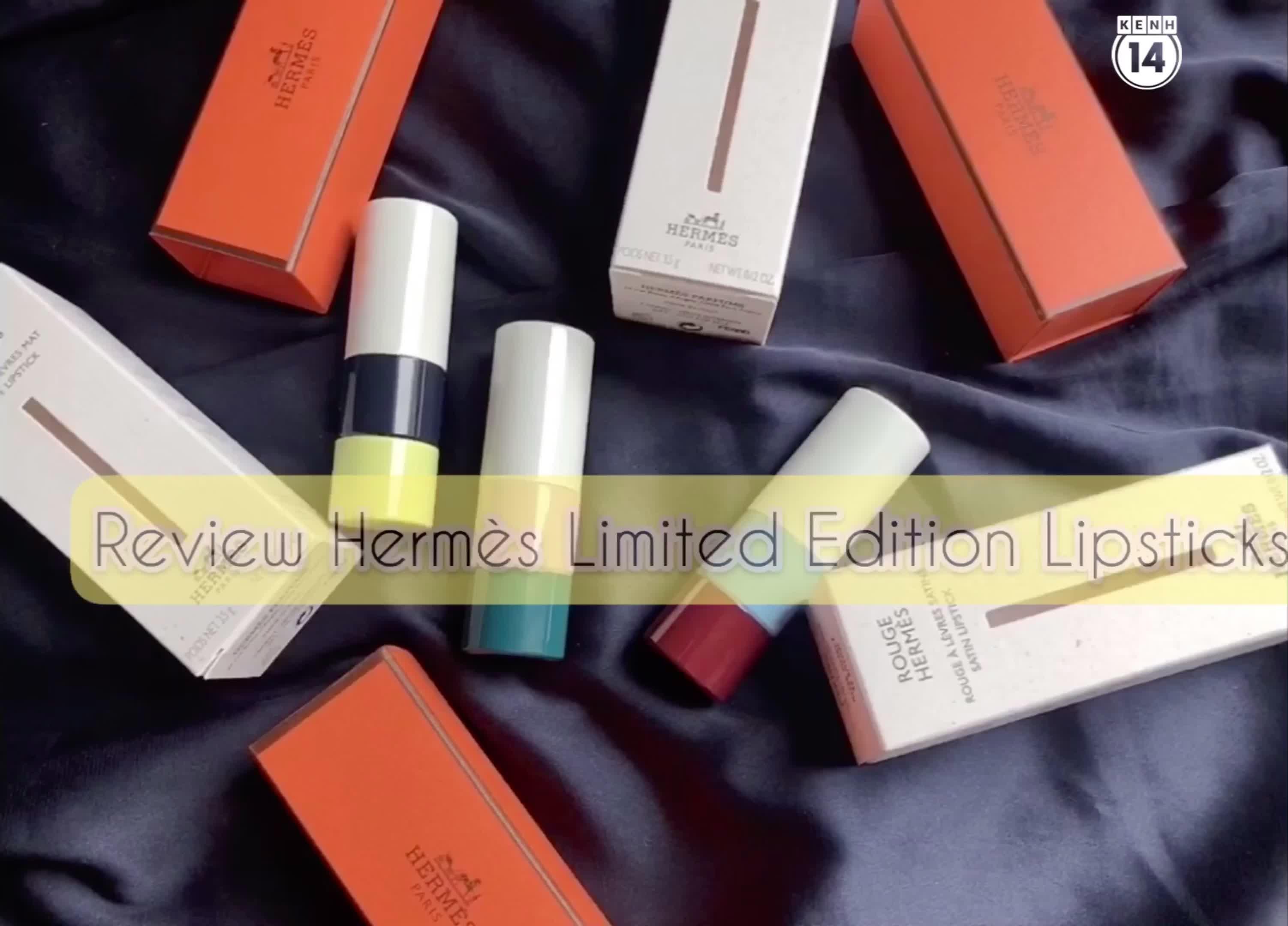 Bộ son Limited Edtion của Hermès: Sang, xịn nhưng màu sẽ kén style
