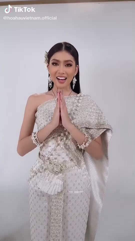 Á hậu Ngọc Thảo nói tiếng Thái ra sao?