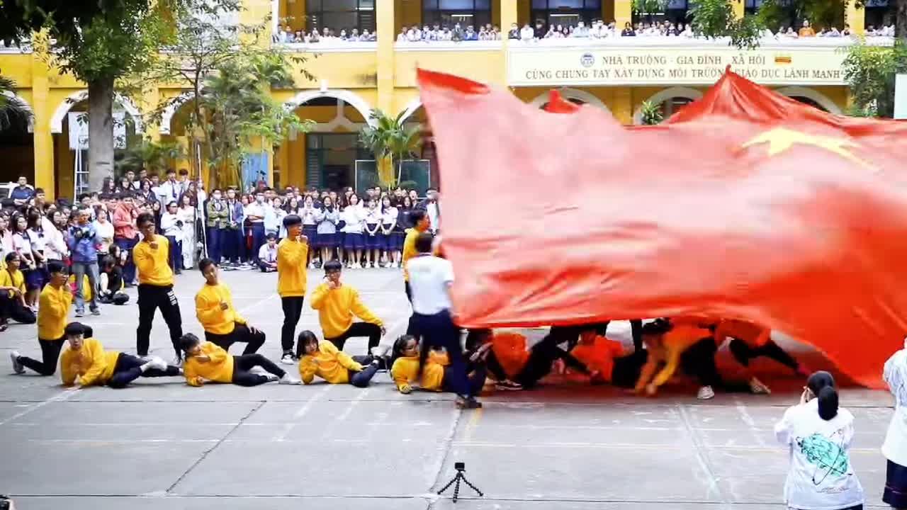 Quán Quân Flashmob trường THPT Trưng Vương, TP.HCM